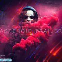 پروژه افتر افکت تریلر و اسلایدشو با افکت سیارک – Asteroid Cinematic Trailer
