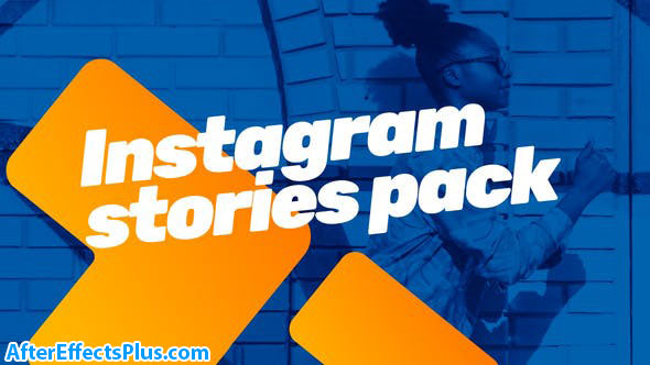 پروژه افتر افکت استوری اینستاگرام با عنوان متحرک - Instagram bundle Motion Titles library