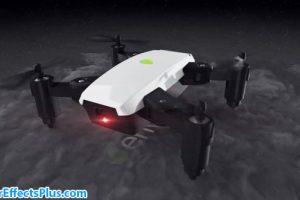 پروژه افتر افکت نمایش لوگو با پهپاد و کواد کوپتر – Quadcopter Drone Logo