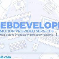 پروژه افتر افکت تیزر توسعه دهنده وب و برنامه نویسی – Web Developer Promo