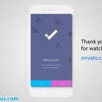 پروژه افتر افکت معرفی اپلیکیشن موبایل آیفون – Perspective Mobile App Promo