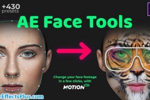 پروژه افتر افکت ابزار تغییر چهره – AE Face Tools