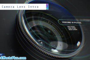 پروژه افتر افکت اینترو با لنز دوربین – Camera Lens Intro