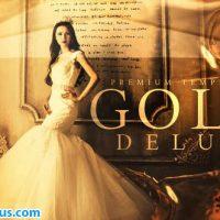پروژه افتر افکت اسلایدشو طلایی و لوکس – Gold Delux