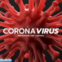 پروژه افتر افکت اینترو کرونا ویروس – Corona Virus Titles