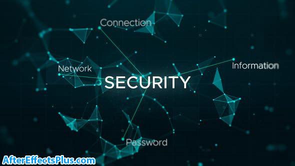 پروژه افتر افکت اینترو سایبری و تکنولوژی - Cyber Hi-tech Connection