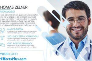 پروژه افتر افکت اسلایدشو پزشکی ساده – Simple Medical Slideshow