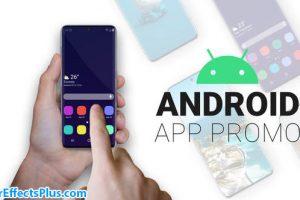 پروژه افتر افکت ابزار تیزر تبلیغاتی اپلیکیشن اندروید – Android App Promo Smartphone Kit
