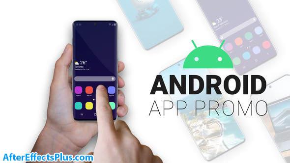پروژه افتر افکت ابزار تیزر تبلیغاتی اپلیکیشن اندروید - Android App Promo | Smartphone Kit