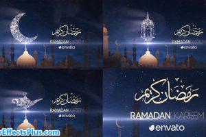 پروژه افتر افکت نمایش لوگو ماه رمضان – Ramadan Kareem