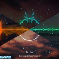 پروژه افتر افکت موزیک پلیر و ویژوالایزر – Audio Spectrum Music Visualizer