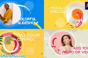 پروژه افتر افکت اسلایدشو مایع رنگارنگ – Colorful Liquid Slideshow