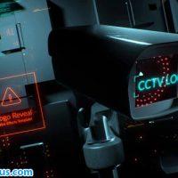 پروژه افتر افکت نمایش لوگو دوربین امنیتی – CCTV Security Logo