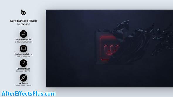 دانلود پروژه افتر افکت نمایش لوگو با افکت پاره شدن پارچه