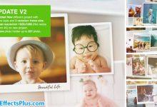 پروژه افتر افکت اسلایدشو عکس لحظه های خاص - Special Moments Photo Slideshow