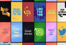 پروژه افتر افکت استوری متنی اینستاگرام - Instagram Text Stories