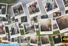 پروژه افتر افکت گالری عکس روی طناب - Photo Gallery 4K